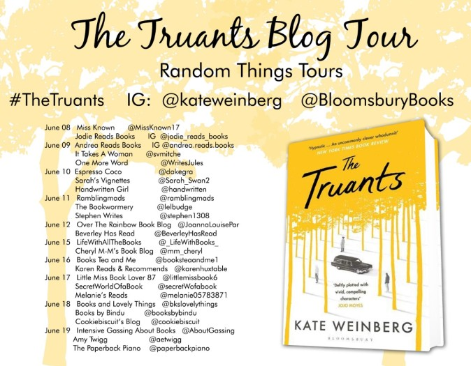 List of blog tour participants